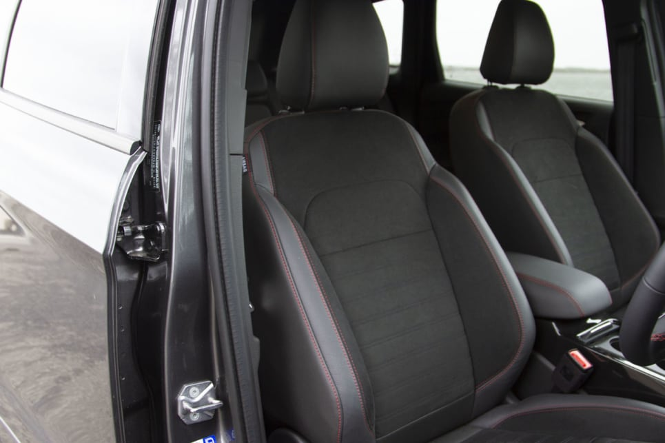 Inside you have the same seats as the rest of the range.
