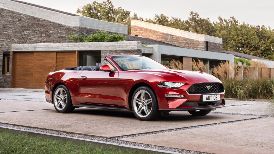 New Ford Mustang 2019 Convertible Coupe Ford Uk >> Ford Mustang 2019 Pricing And Spec Confirmed Car News Carsguide