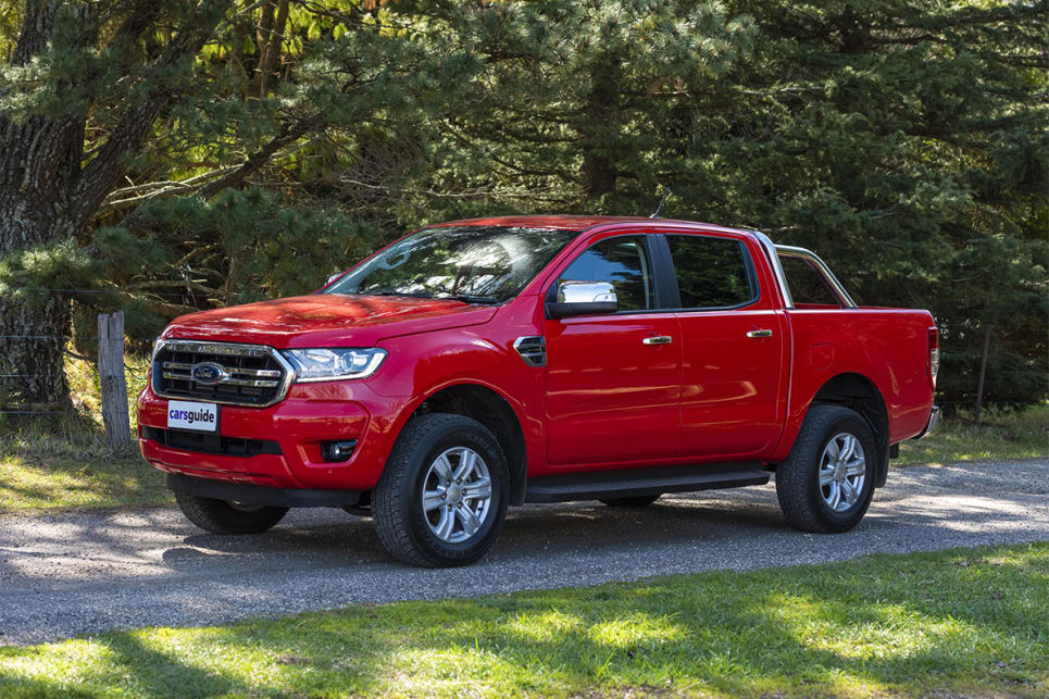 The Ranger XLT is the most expensive of the bunch at $60,040 before on road costs.