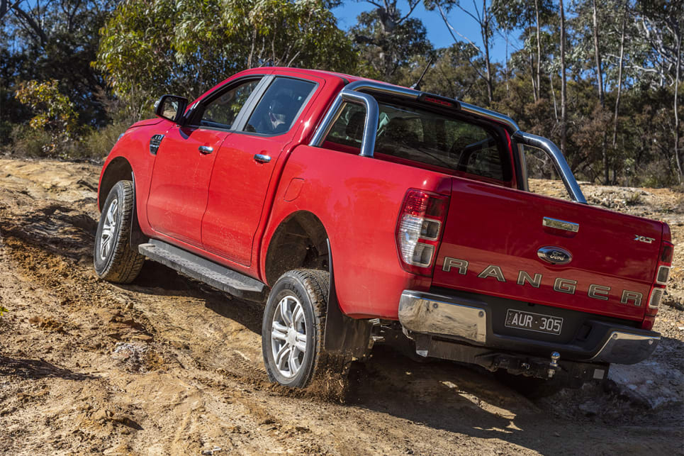 The Ranger with a good mix of comfort and capability was second behind the HiLux.