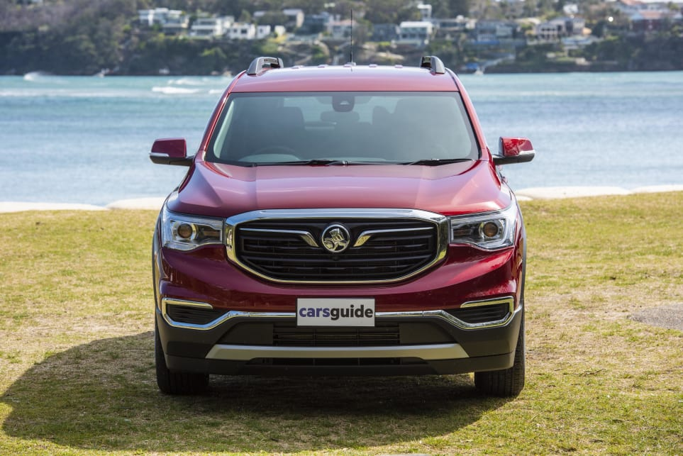 We love the Holden Acadia's tough looks (pictured: Acadia LT).