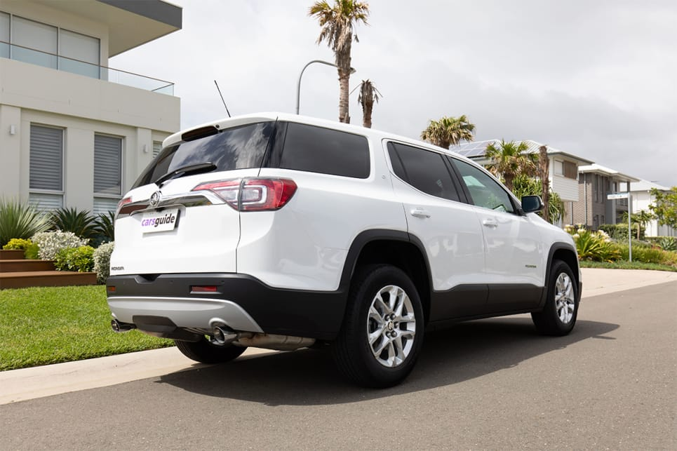 There's nothing really sleek or sporty about the Acadia, it's very truck-like. (image credit: Dean McCartney)
