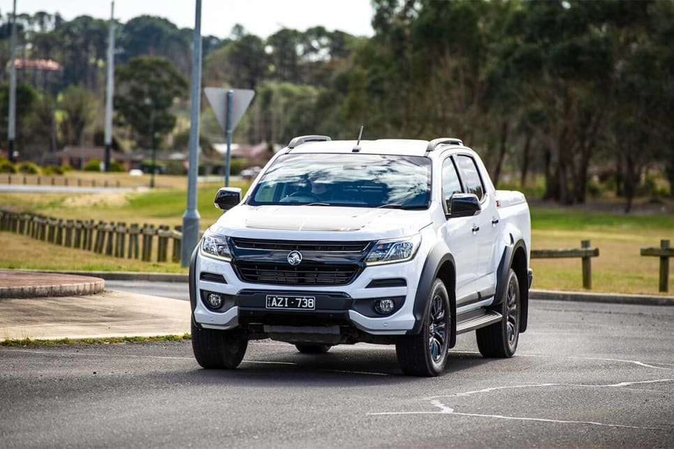 The Colorado has benefitted from Australian input when it comes to the suspension and steering.