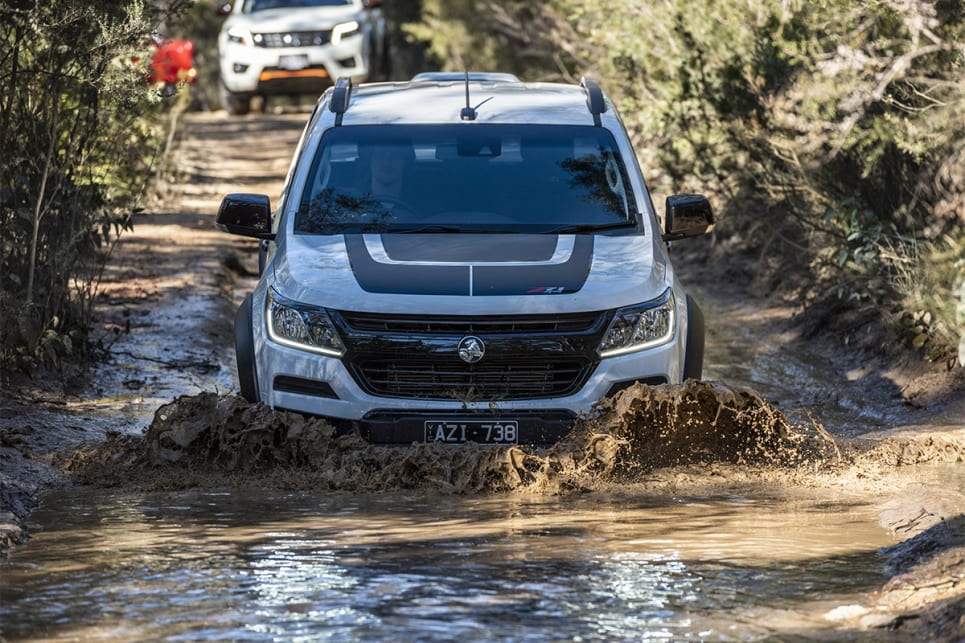 "The Colorado Z71 was ""about 50 times easier than D-Max on the climb"""