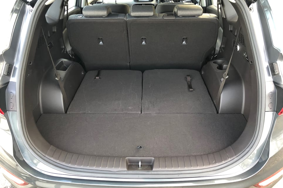 The boot expands to a whopping 1625 litres with all the rear seats folded away.