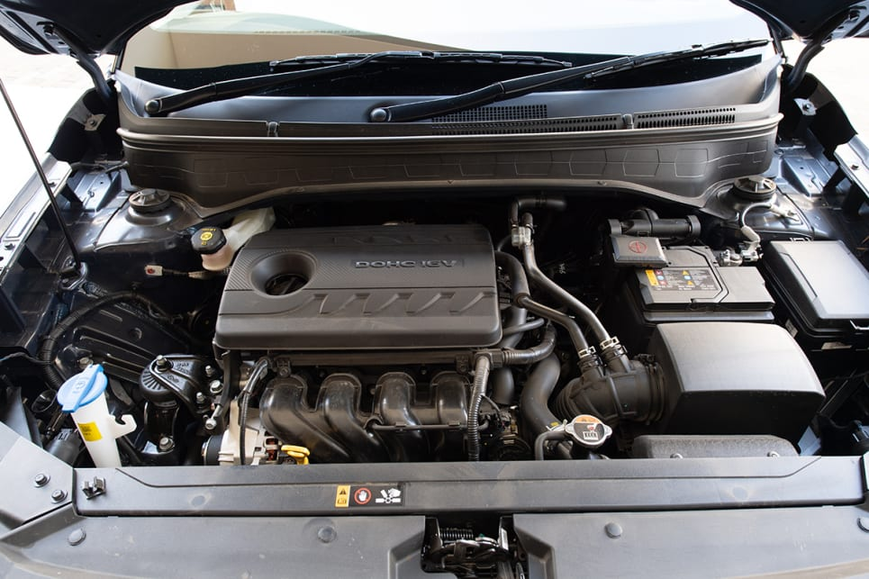 The Venue's 1.6-litre four-cylinder produces 151Nm of torque at 4850rpm.