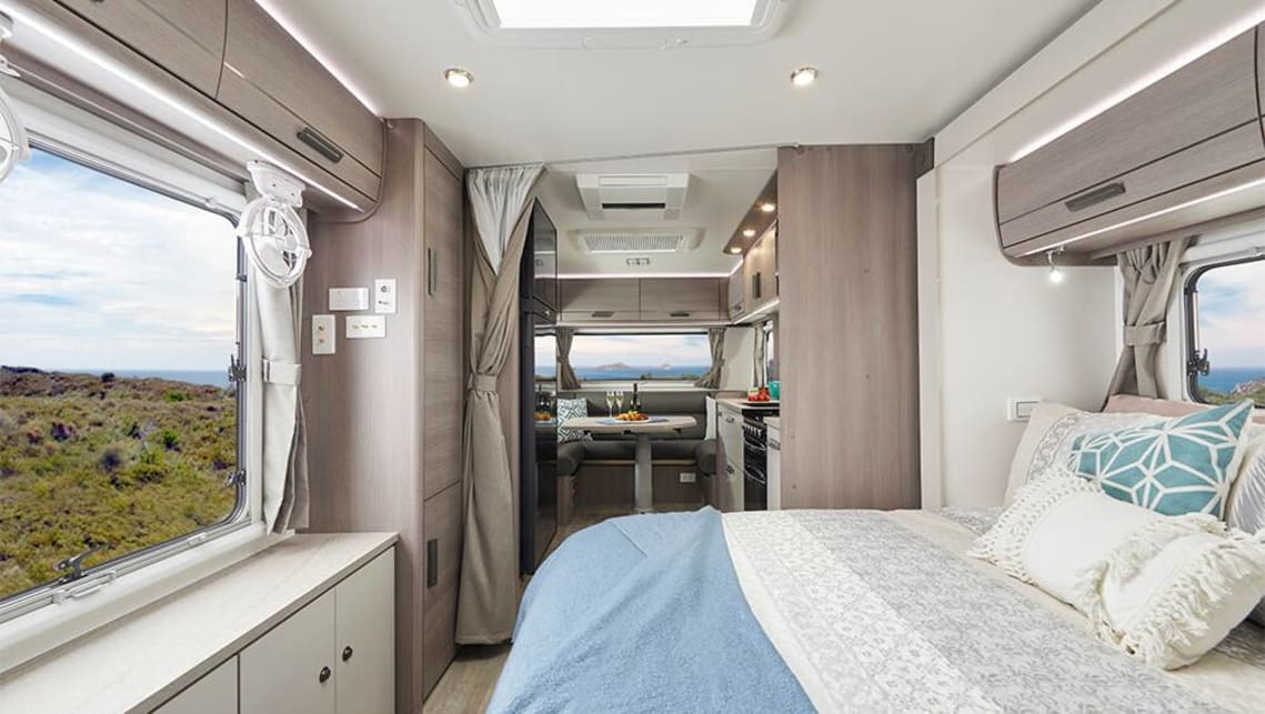 Jayco says its signature Silverline 2019 range now has a personal virtual assistant – Amazon Alexa.