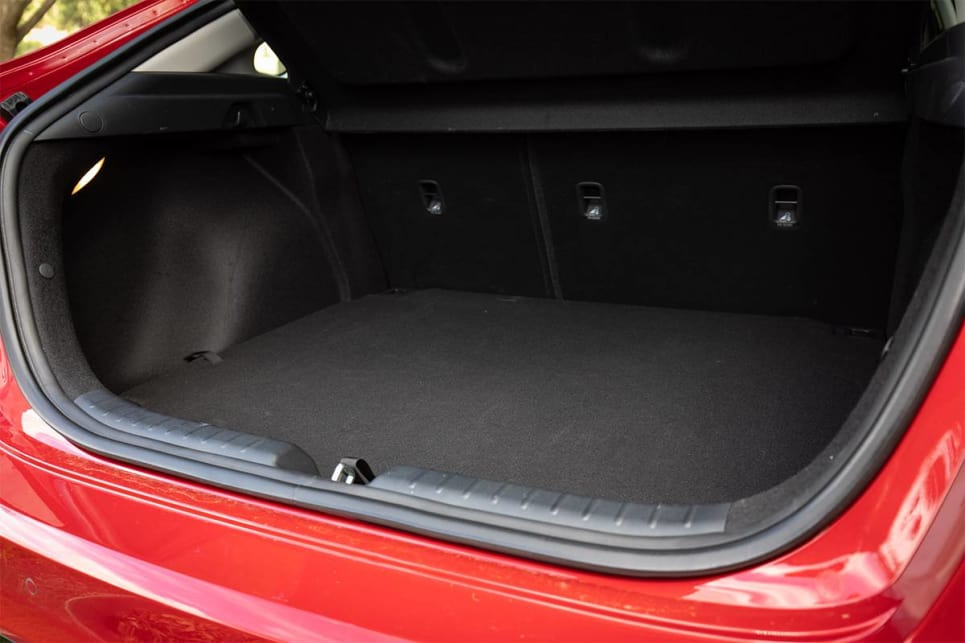 Boot space is rated at 473-litres. (image credit: Dean McCartney)
