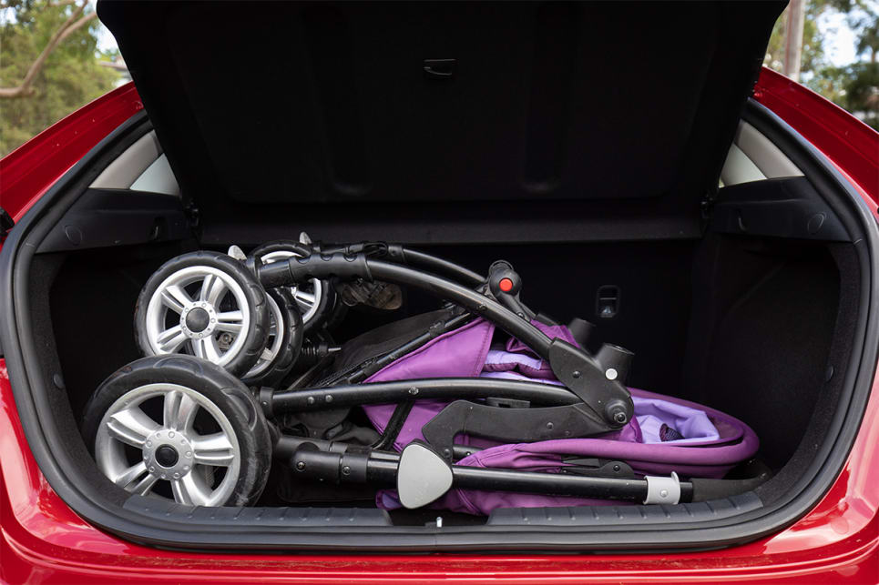 The boot is big enough to fit a pram. (image credit: Dean McCartney)