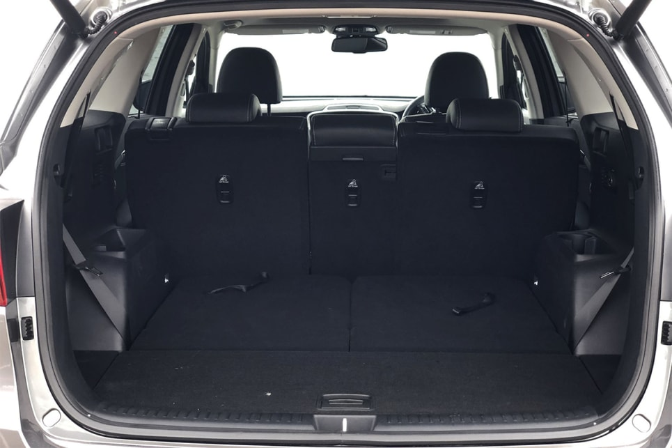 Drop the second row and boot spaces rises to an impressive 1662 litres. (image credit: Peter Anderson)