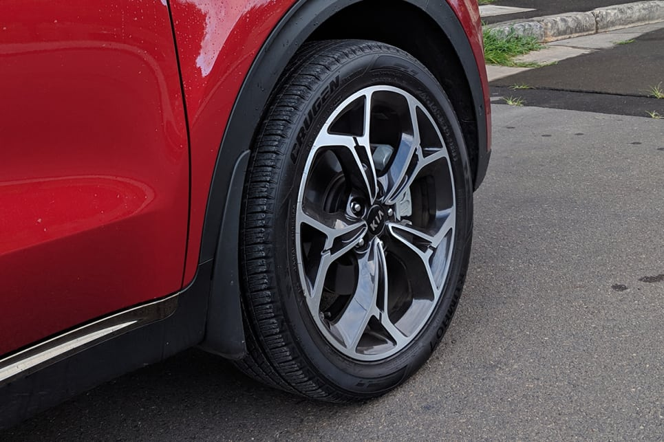 The GT-Line gets 19-inch alloy wheels.