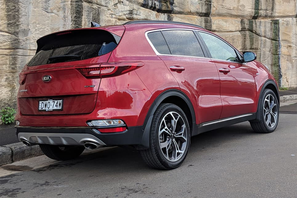 It's a good-looking and well-proportioned SUV especially from the back.