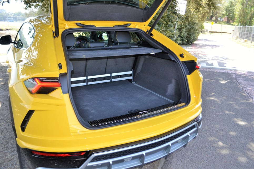 Cargo space is rated at 616 litres.
