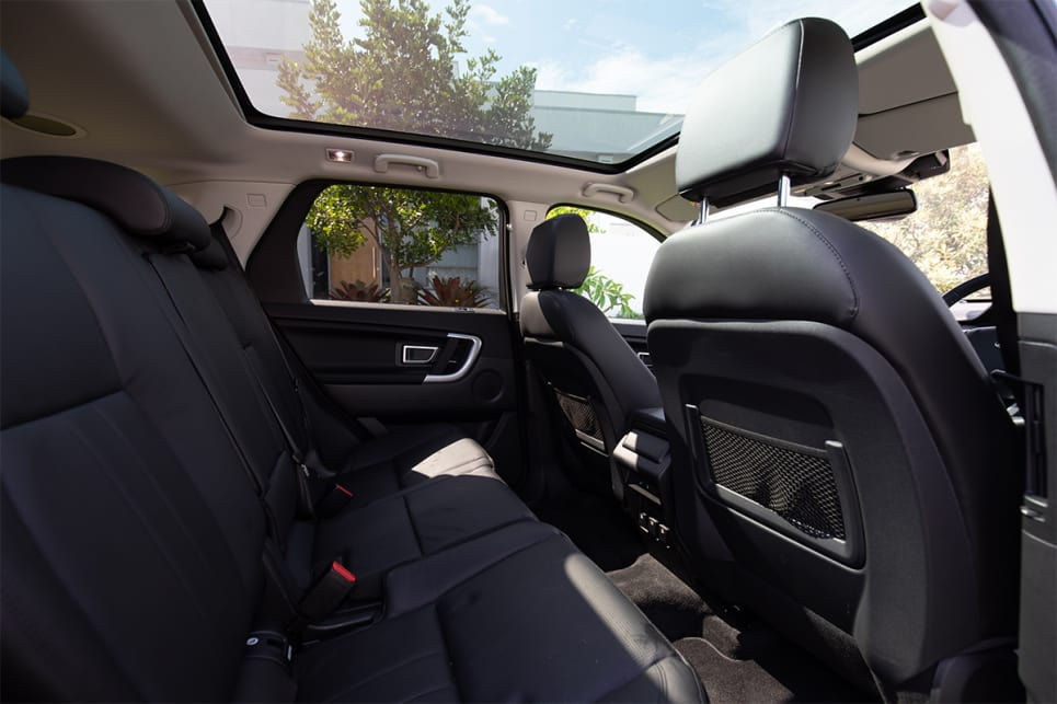 There's so much space in the back with the seats able to move forward and back. (image credit: Dean McCartney)