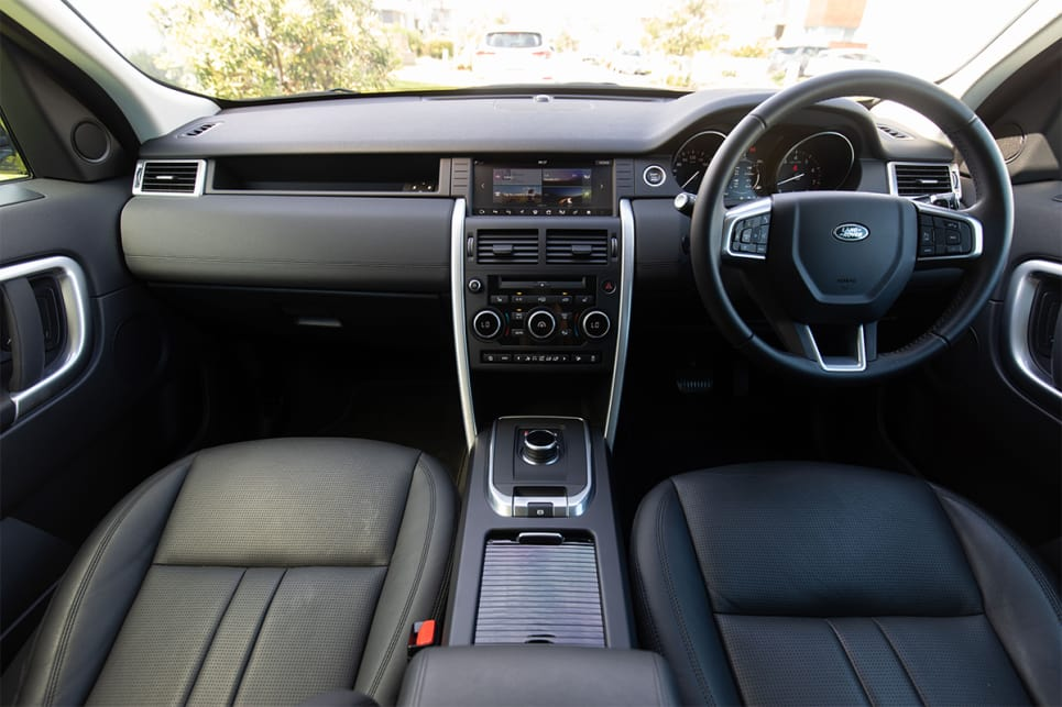 The interior feels breezy, whether you're sitting in the front or back. (image credit: Dean McCartney)