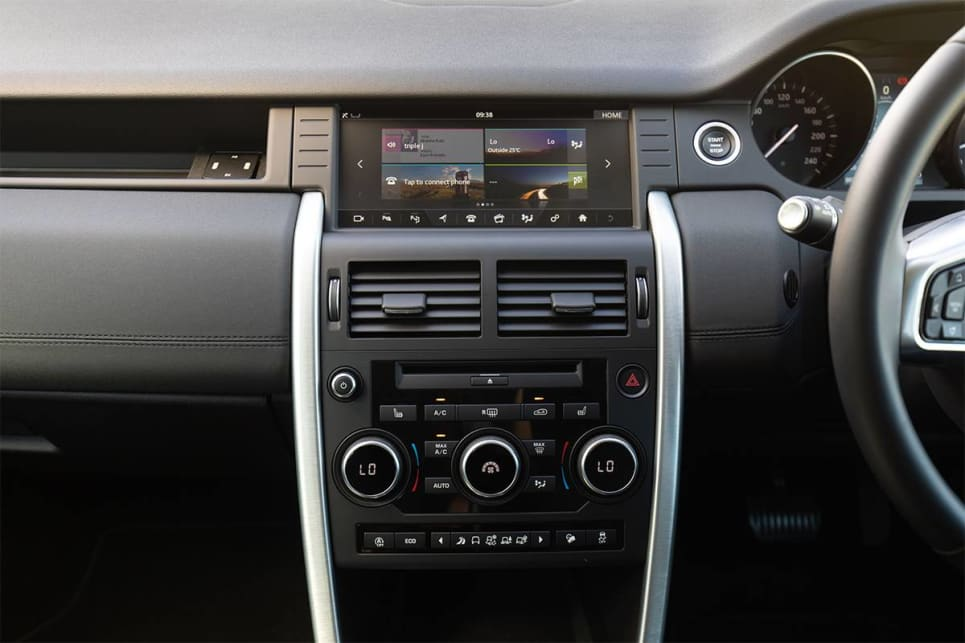 The multimedia system is controlled through a 8.0-inch touchscreen. (image credit: Dean McCartney)