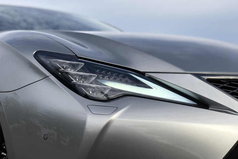 There's now a much better looking set of headlights - with cooler LED daytime running lights and headlights.
