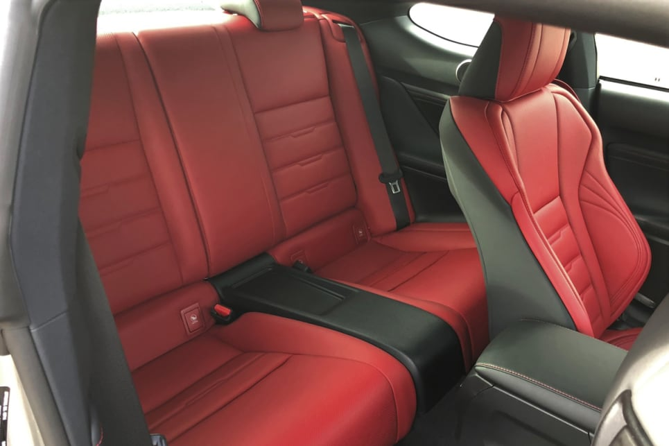 Rear seat passengers have very little space for their limbs or heads but at least the seats are comfortable.