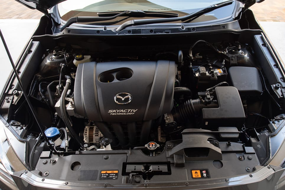 The CX-3's 2.0-litre four-cylinder produces 195Nm of torque at at 2800rpm.