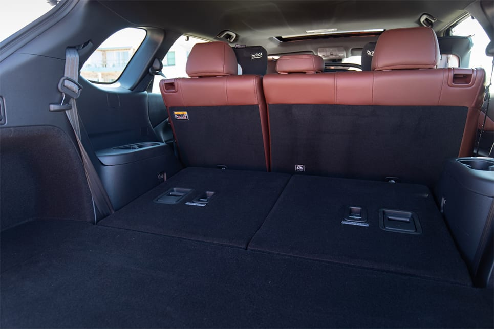 With five seats in use, the boot opens up to a whopping 810L. (image credit: Dean McCartney)