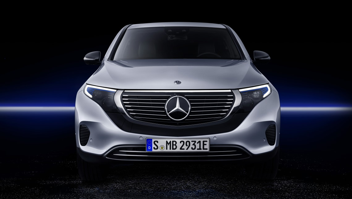 Mercedes' first all-electric SUV has at last been revealed.