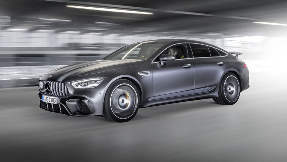 Packing a 470kW/900Nm 4.0-litre twin-turbo V8, the Mercedes-AMG GT63 S Edition 1 has got the goods to match its looks.