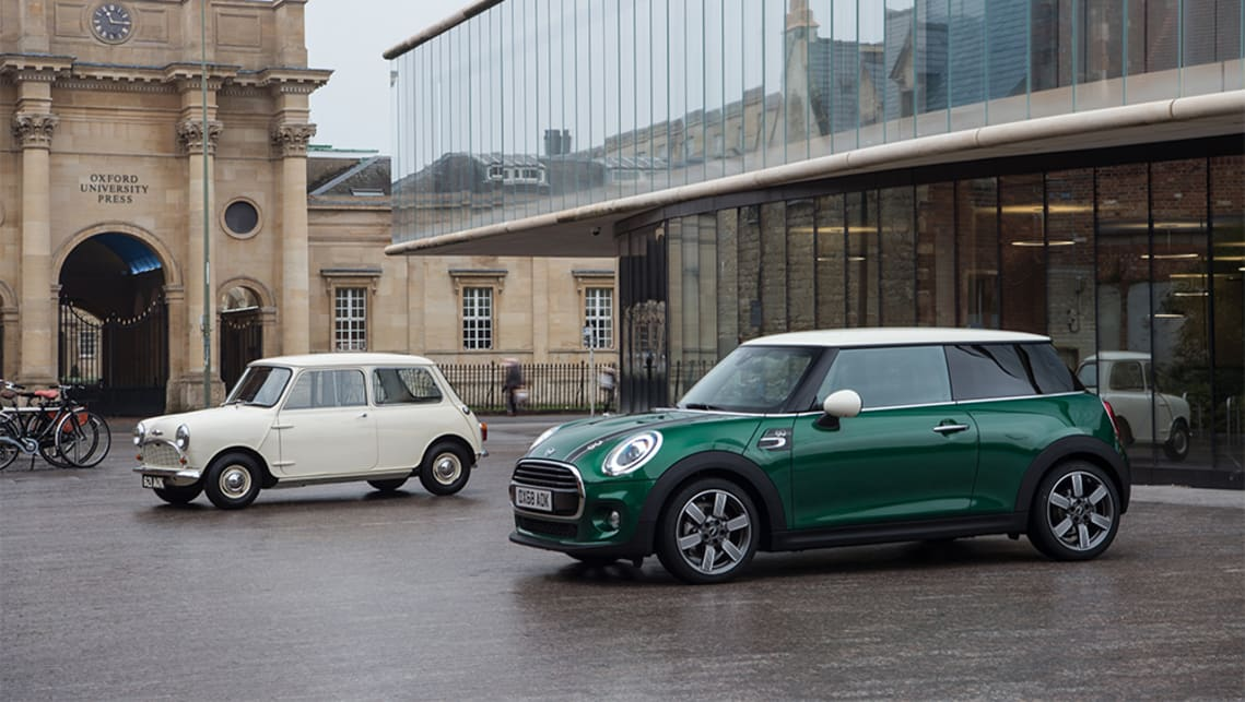 The Mini 60 Years Edition pays homage to six decades of Mini models by adding a classic look and modern tech.