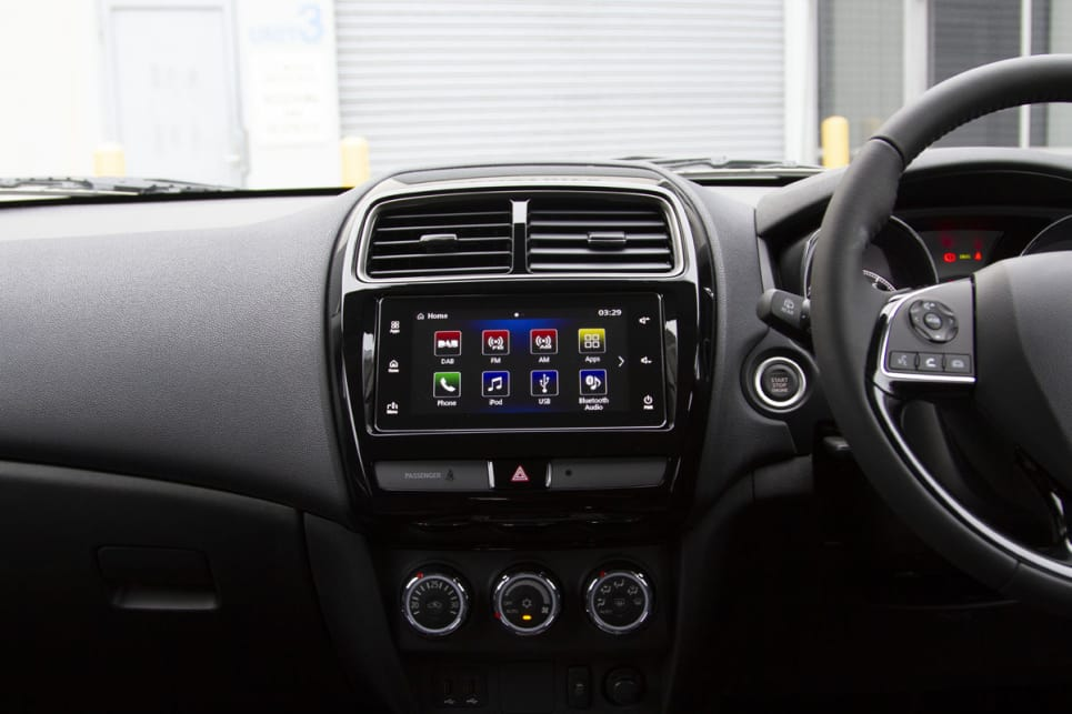 Apple CarPlay and Android Auto are standard across the range.