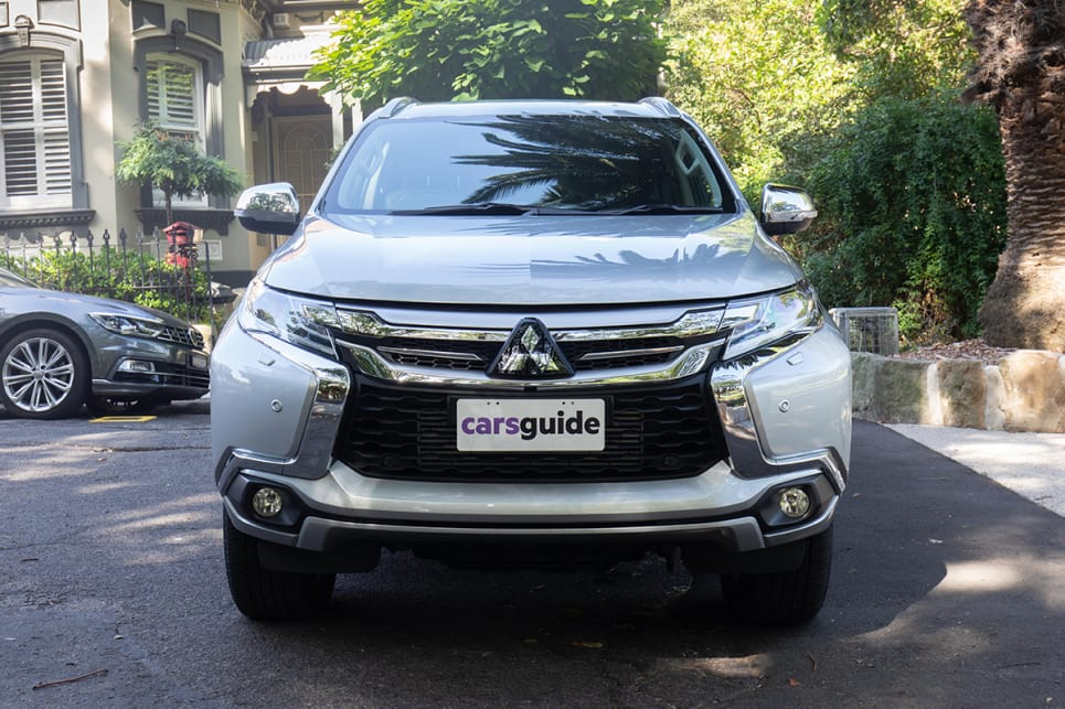 The exterior of the Pajero Sport is quite stylish. (image credit: Dean McCartney)