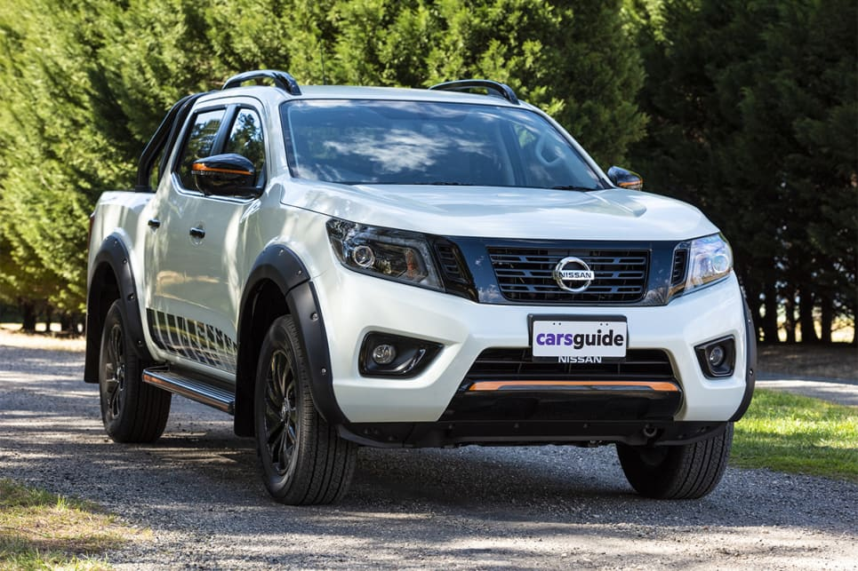 The Navara N-Trek comes in at $58,950 before on road costs.