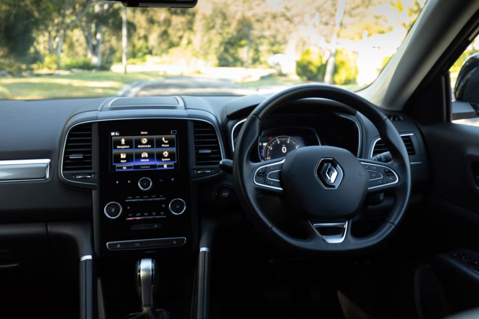 The steering wheel is leather-trimmed and feels good under the hands, and the layout of the centre console is well designed.