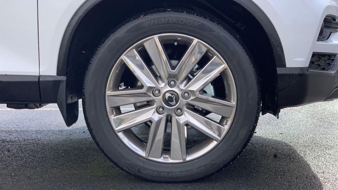 the Ultimate Plus variant has 20-inch chrome alloy wheels.