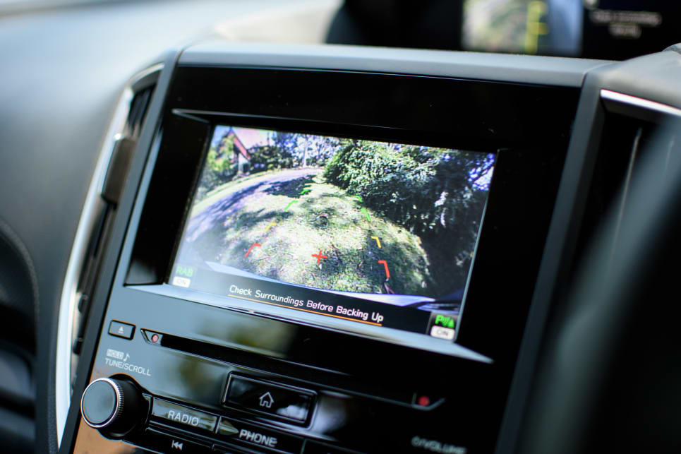 ... to the already existing rear-view camera equipped multimedia system.