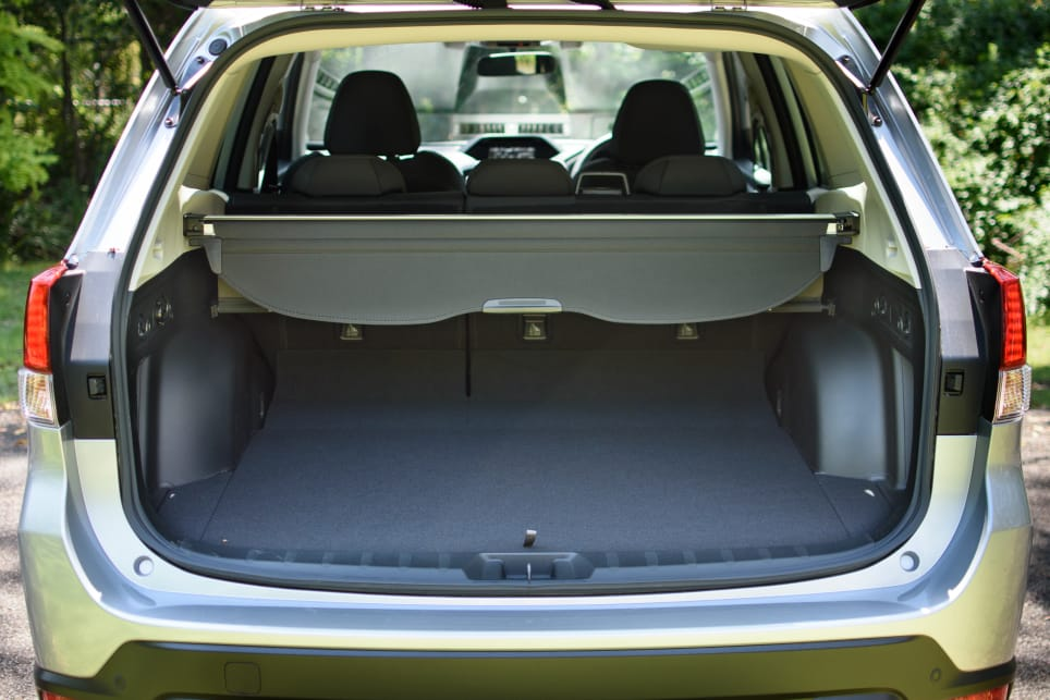 The boot offers leagues of room even in its least-generous configuration.