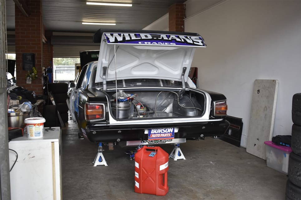 Ford XW Falcon GT.