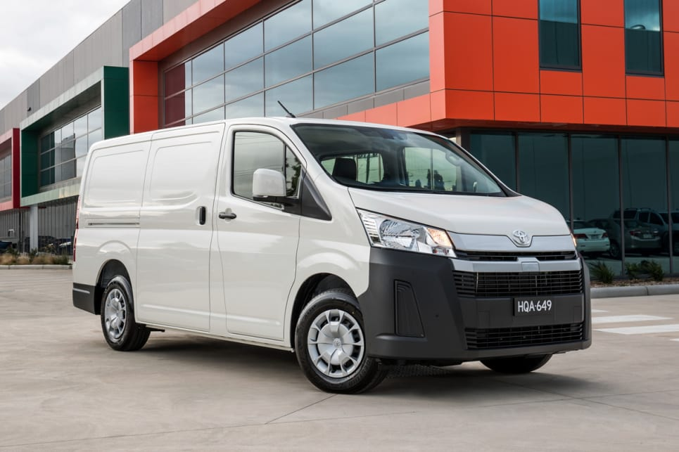 Toyota HiAce hybrid being investigated - Car News | CarsGuide