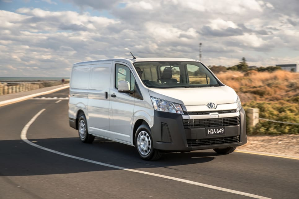 The Toyota HiAce legend has finally been renewed and has clearly been watching its competition.