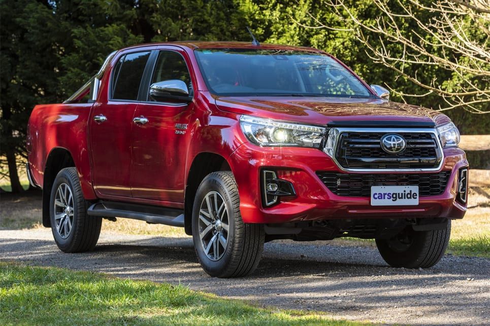 The HiLux SR5 kicks off at $57,240 before on road costs.