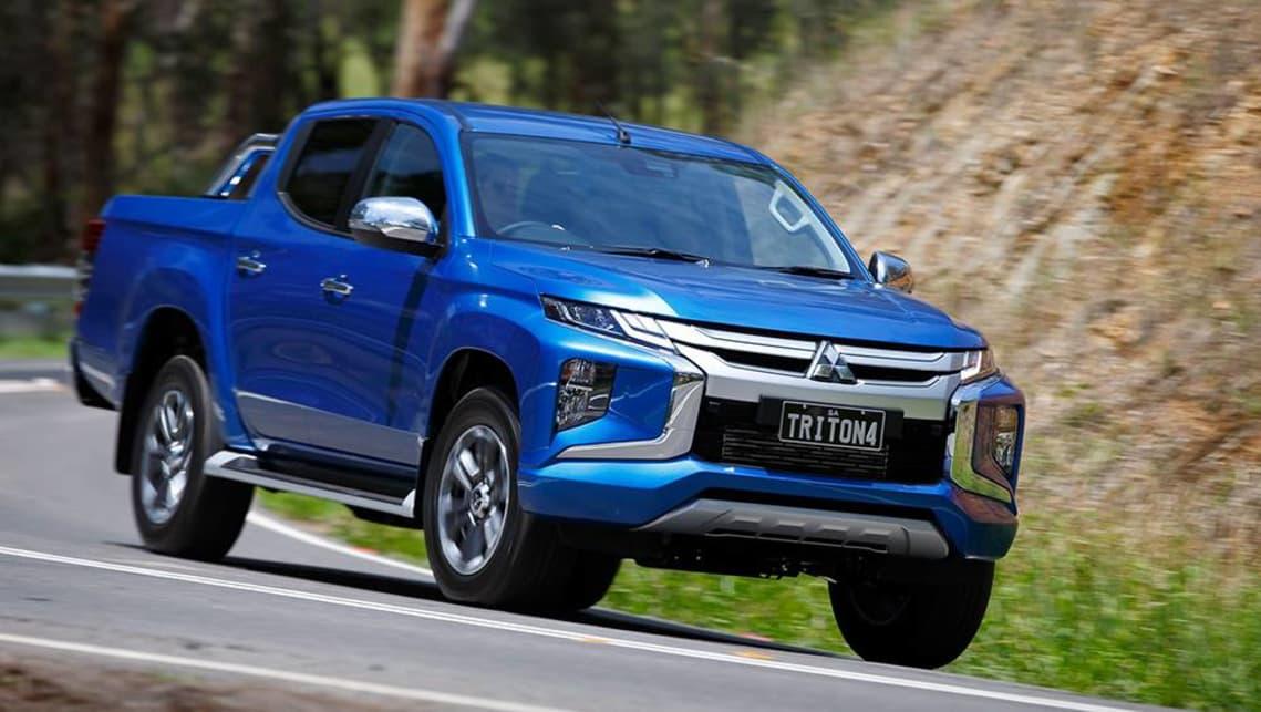 Mitsubishi Triton Gls 2019 Review Snapshot Carsguide