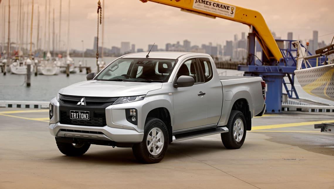 Mitsubishi Triton Glx 2019 Review Snapshot Carsguide