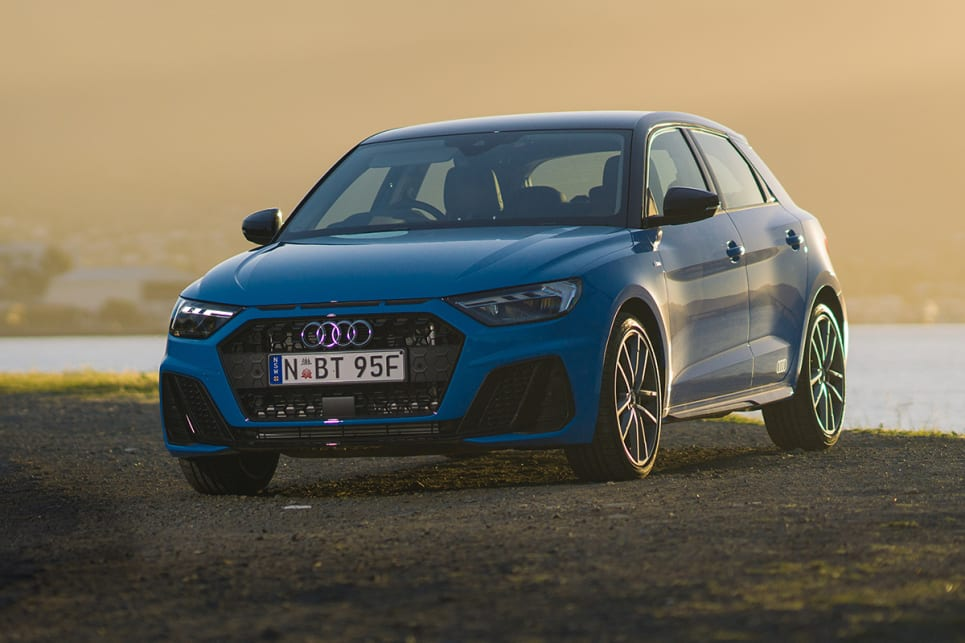 The 40 TFSI is the top-grade A1, and takes a significant jump from the rest of the range in terms of price.