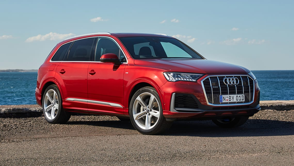 New Audi Q7 2020 Pricing And Specs Detailed Comprehensive Mid Life Facelift Ushers In Added Value Car News Carsguide