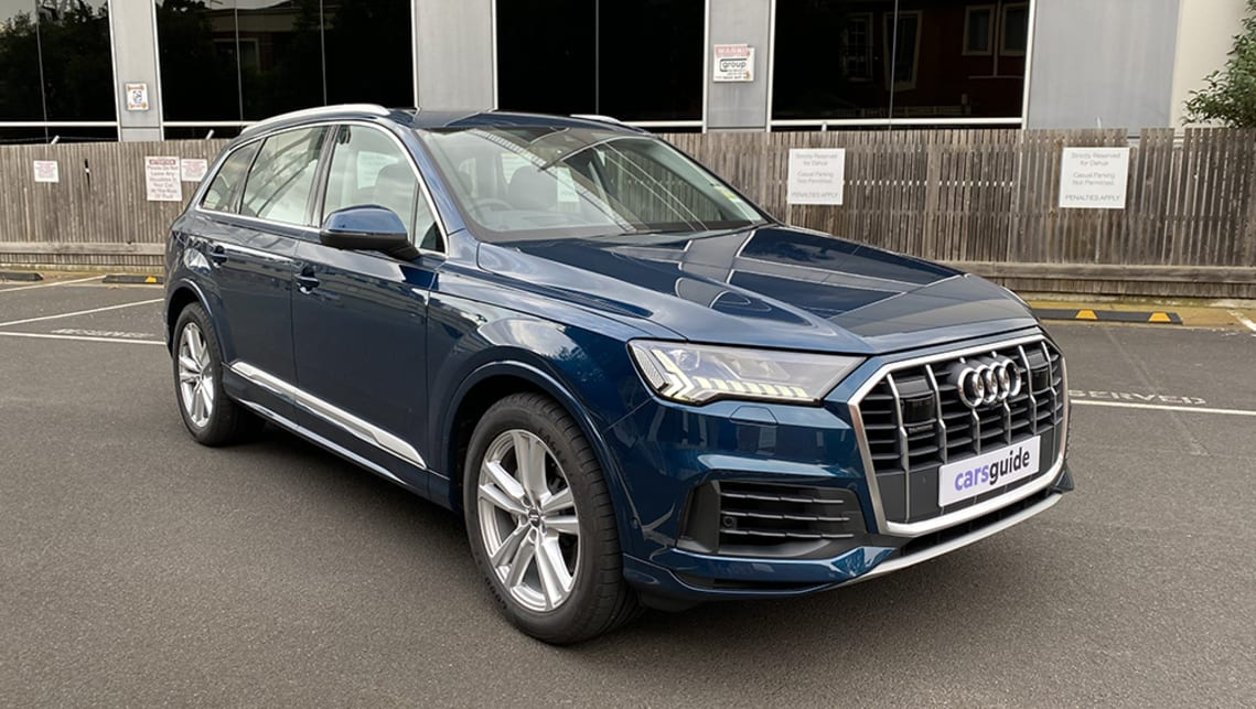 Audi Q7 2020 Review 50 Tdi Quattro Carsguide