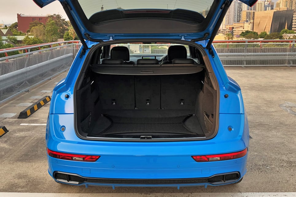 With the rear seats in place, boot space is rated at 550 litres.