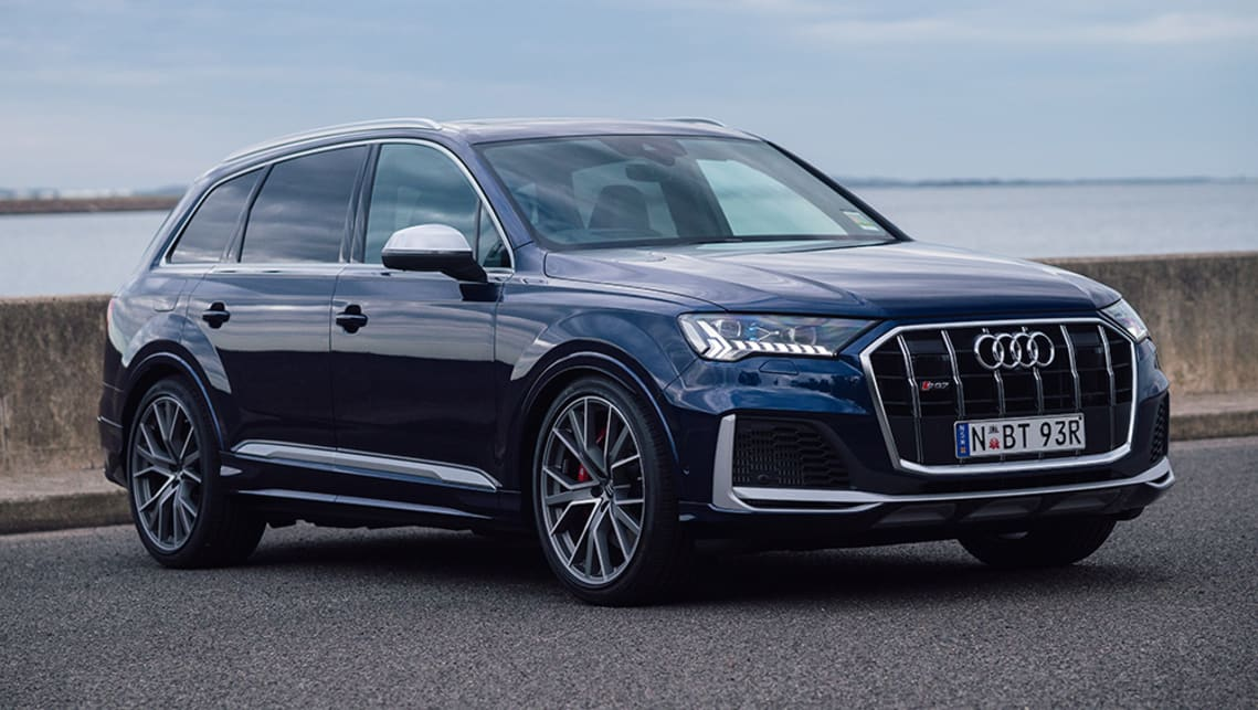 New Audi Sq7 2020 Pricing And Specs Detailed Range Rover Sport Rivalling Large Suv Touches Down With Updated Looks Car News Carsguide