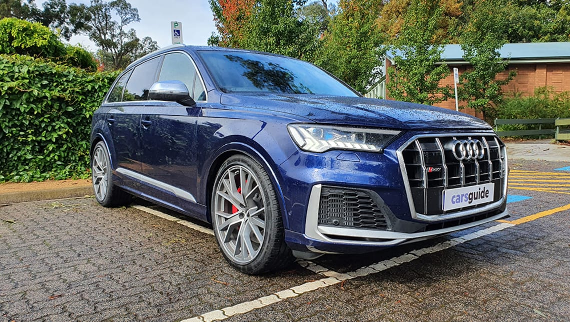 Audi Sq7 2020 Review Carsguide