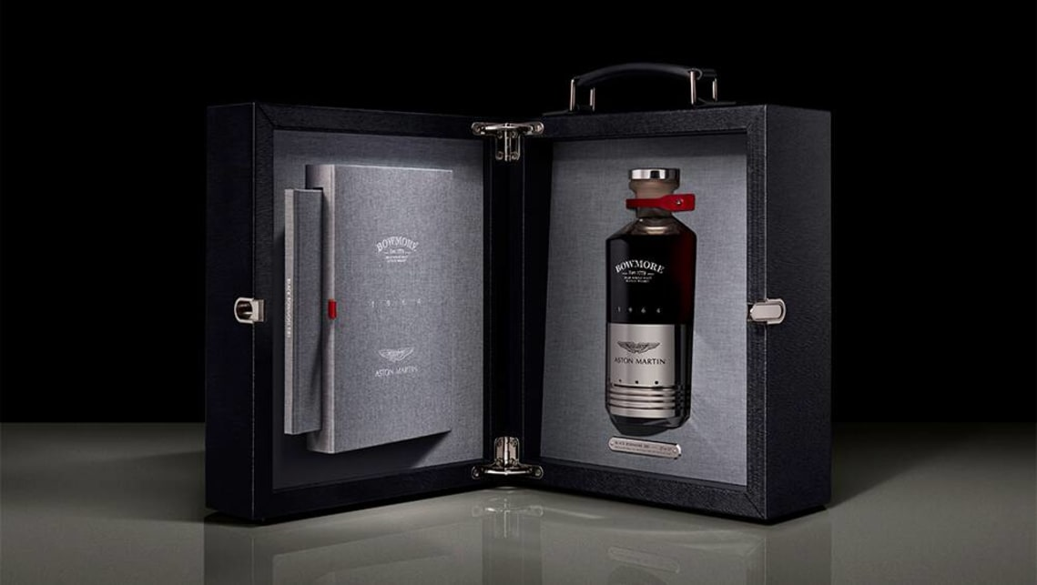 Only 25 bottles of Black Bowmore DB5 1964 are being made.