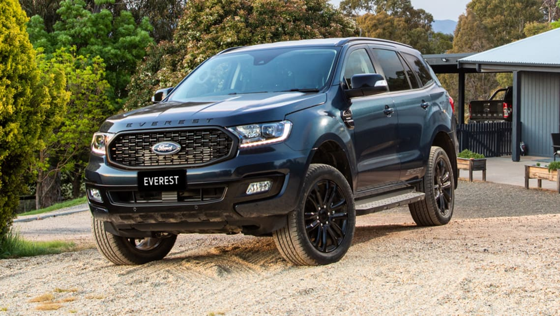 Ford Everest 2020 Pricing And Spec Confirmed New Sport Grade Injects Extra Style To Large Suv Range Car News Carsguide