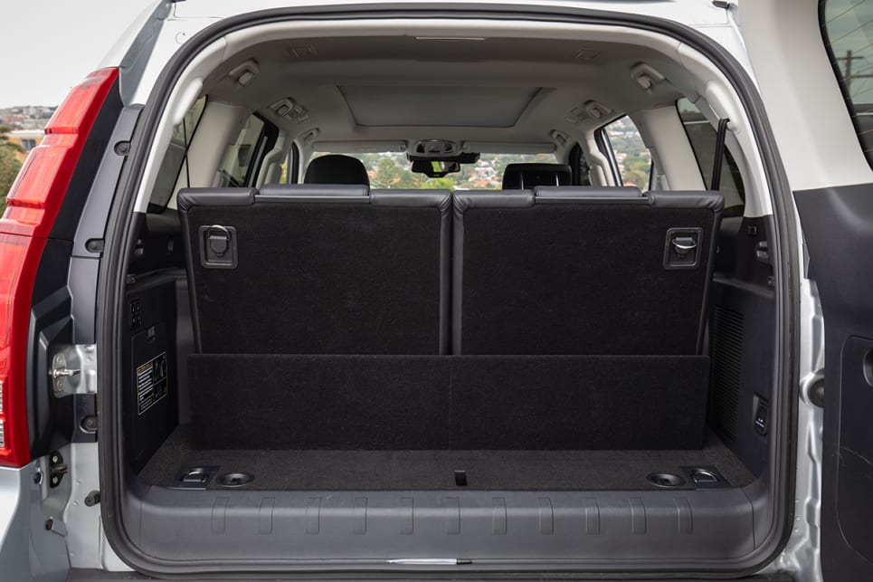 If the two back seats are in use, the boot space shrinks which is normal in a seven seat SUV.