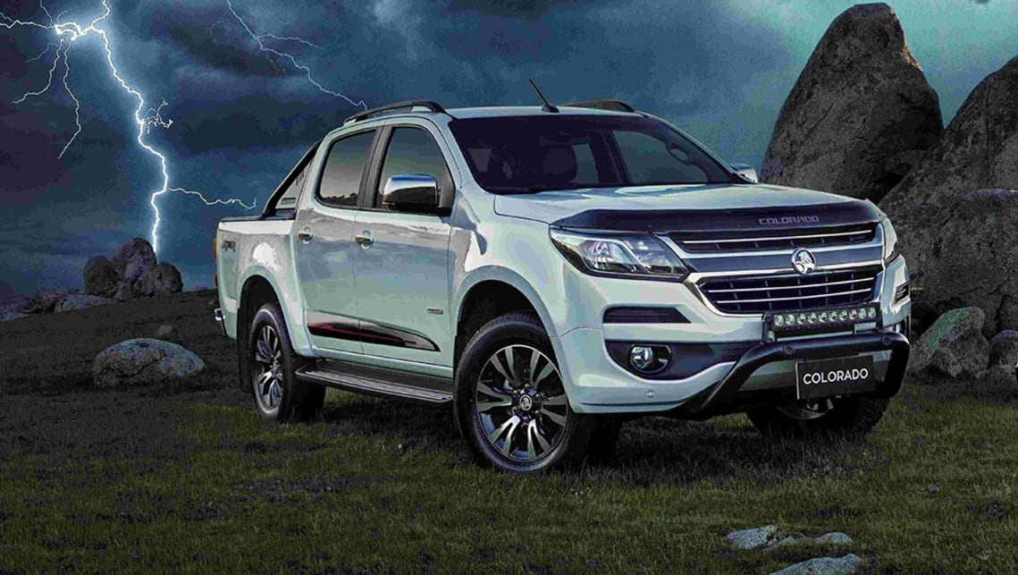 New Holden Colorado Storm 2019 Pricing And Specs Confirmed